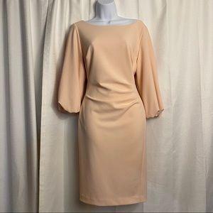 Lauren Ralph Lauren Ruched Light Pink Dress